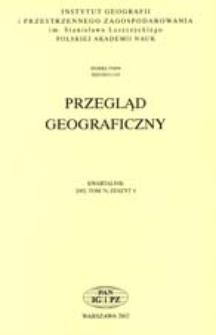 Przegląd Geograficzny T. 74 z. 4 (2002)