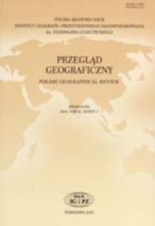 Anglo-amerykańska dominacja w geografii: główne wątki dyskusji prowadzonej w ramach geografii krytycznej = Anglo-American domination in geography. The main threads of a discussionconducted within the framework of critical geography