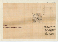 KZG, V 9 C, plan konstrukcji, warstwa 38 (fragment)