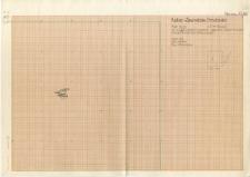 KZG, V 12 D, plan warstwy 3, poziom II kamienie, częściowo zrekonstruowane położenie kamieni przesuniętych