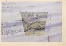 KZG, V 4 A, profil archeologiczny N