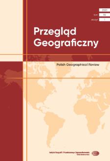 Przegląd Geograficzny T. 92 z. 1 (2020)