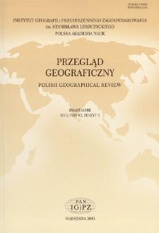 Przegląd Geograficzny T. 85 z. 2 (2013)