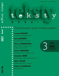 Teksty Drugie Nr 3 (2005)