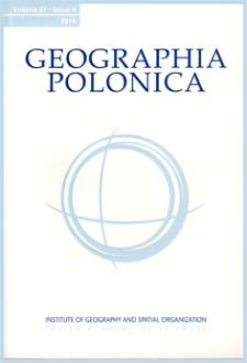 Geographia Polonica Vol. 87 No. 4 (2014)