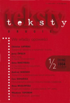 Teksty Drugie Nr 1-2 (2004)