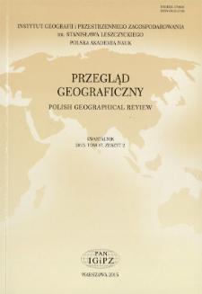Przegląd Geograficzny T. 87 z. 2 (2015)