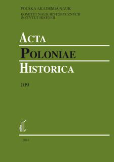 Acta Poloniae Historica. T. 109 (2014)