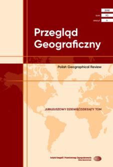 Przegląd Geograficzny T. 90 z. 4 (2018)